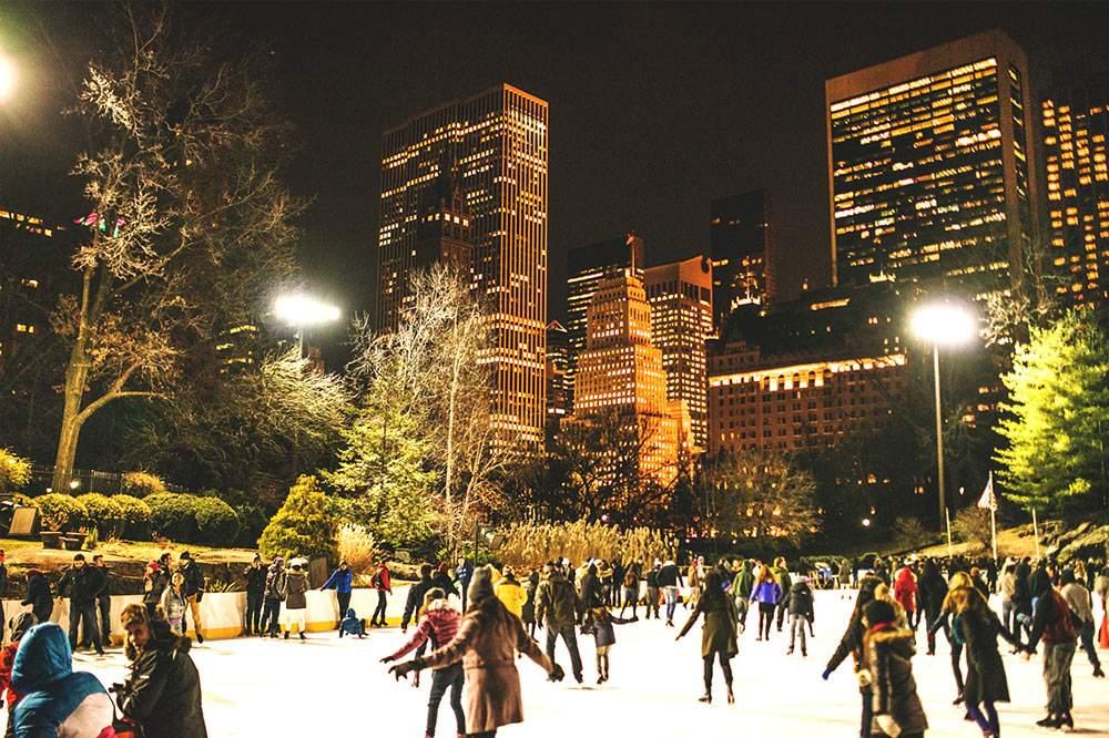 Night Ice Skating